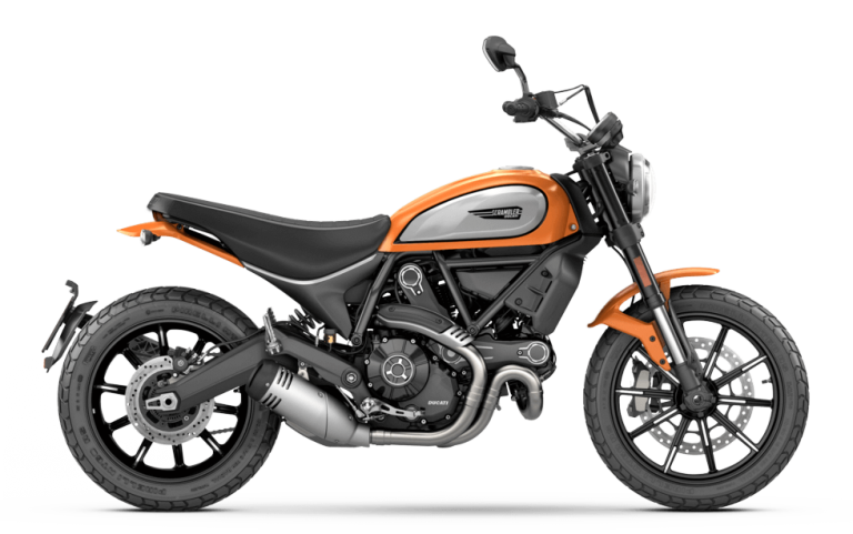 ducati scrambler icon orange