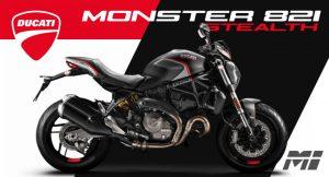 Ducati Montréal - Ducati Monster 821 Stealth 2019 - Prix Specs Moteur